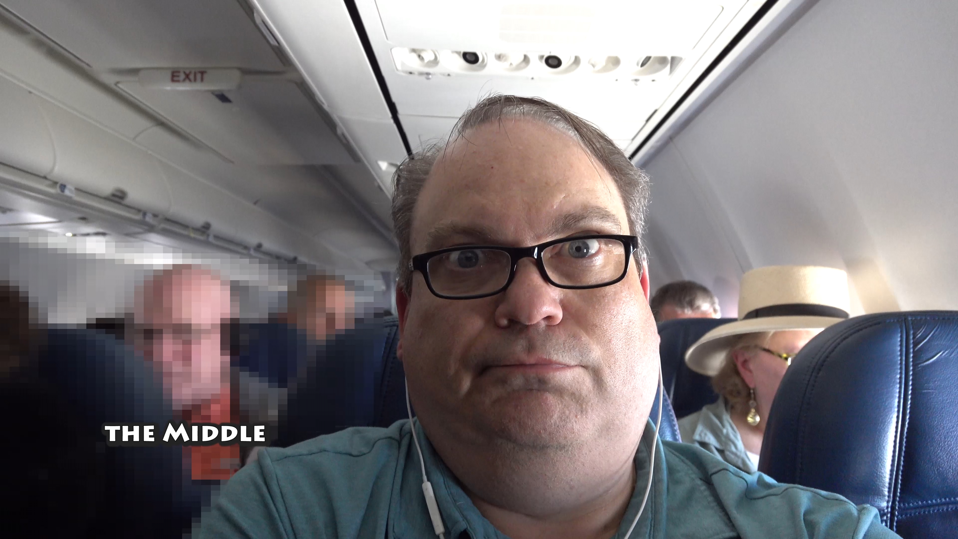 Stuck in the Middle Seat – Off to Vegas