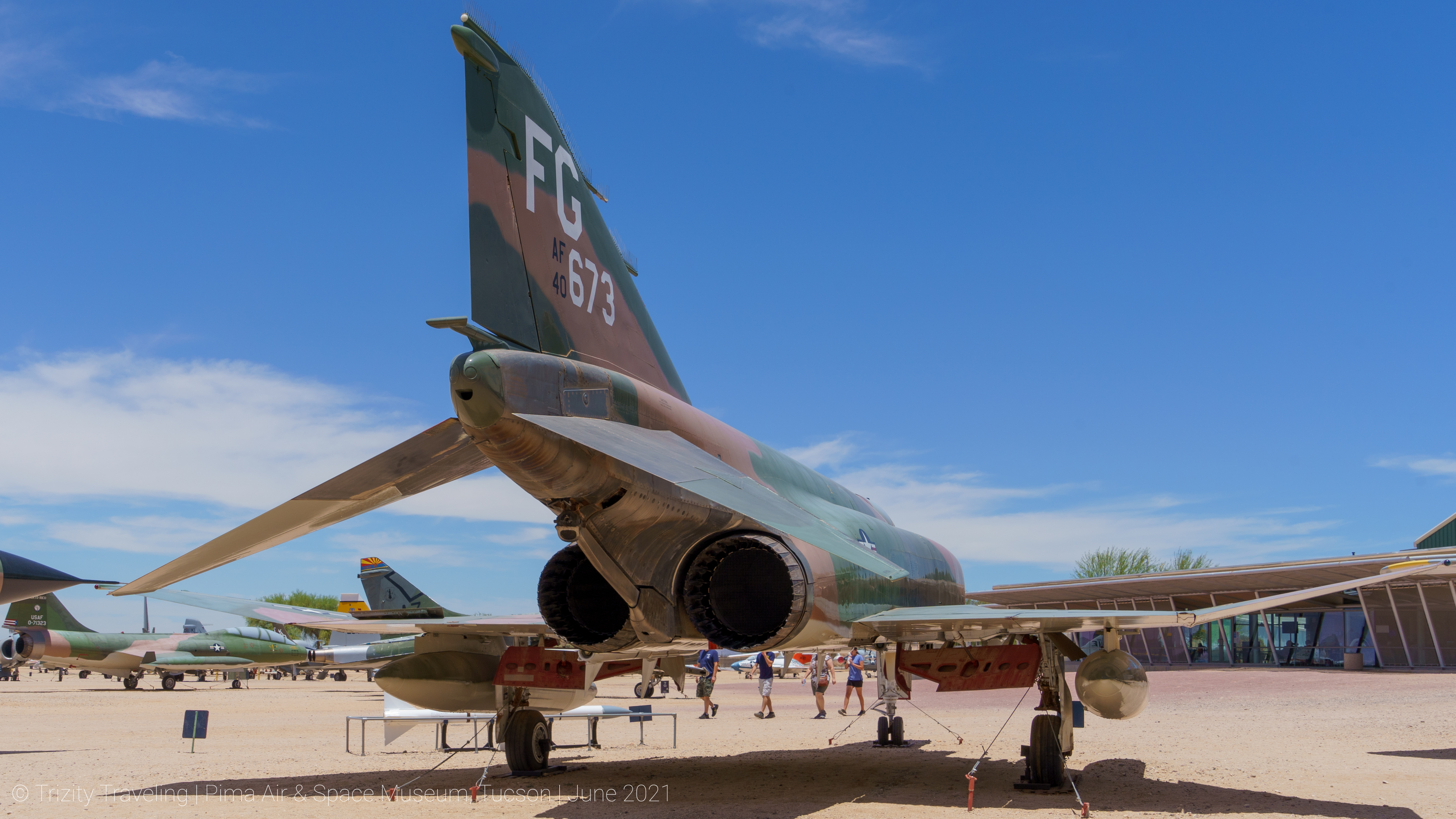 Visiting the Pima Air & Space Museum